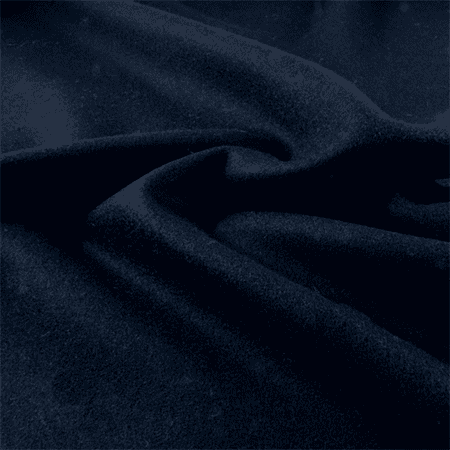 Navy Blue Wool Single Crepe, Fabric By the - Crepe Wool