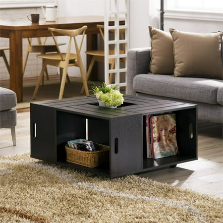 Bowery Hill Square Coffee Table in Espresso - image 2 of 4