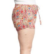 4fca0f19aab Glamsia - Women s Plus Size Bohemian Summer Beach Lounge Printed ...