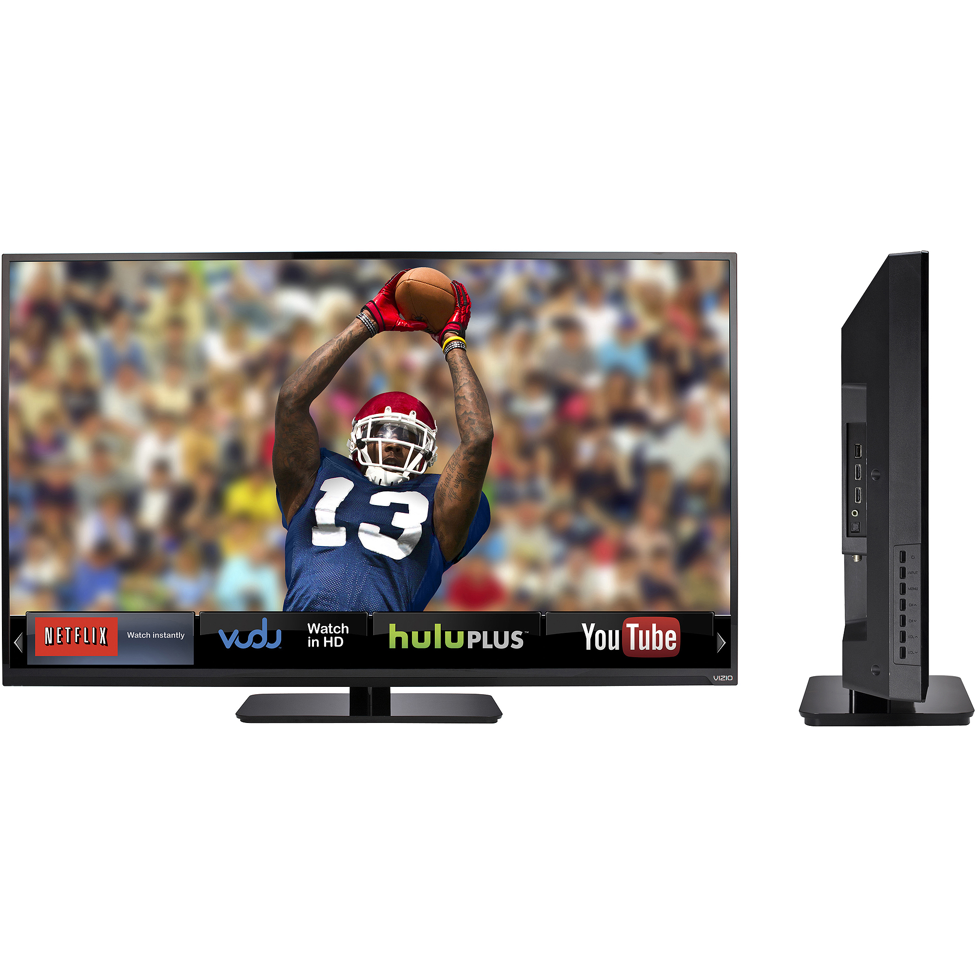 Vizio E-series E320I-A0 32-inch LED Smart HDTV - 1366 x 768 - 720p  - 8 ms - 60 Hz - Ethernet - Black