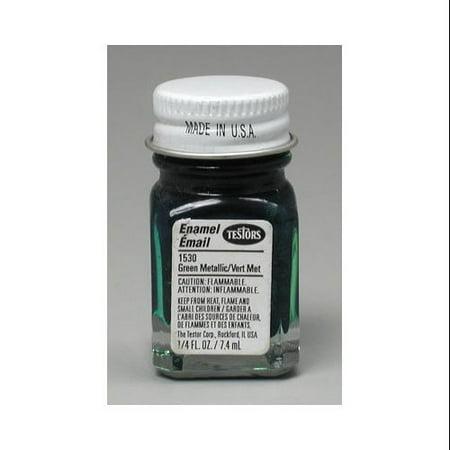Testors 1530 Pla enamel grn m f l/4-oz