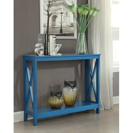 Oxford Console Table Blue - Johar Furniture