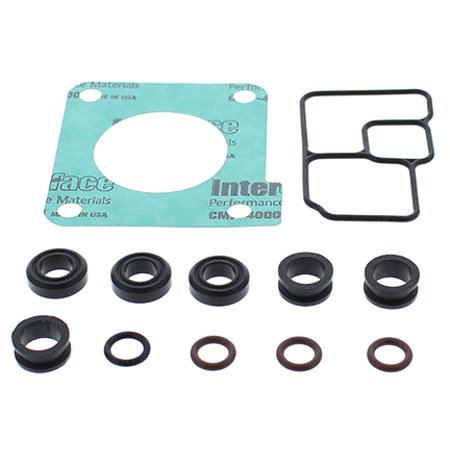 Vertex Injector / Throttle Body O-Ring Kit (725028) for Arctic Cat Bear Cat Wide Track Turbo 2006-2008, 4 - Stroke Trail EFI 2002, 4 - Stroke Touring EFI 2002, T660 Touring Turbo 2004 2005 2006 (2002 Arctic Cat 660 4 Stroke For Sale)