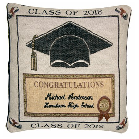 - Personalized Graduation Pillow - Available in 2018 and 2019
