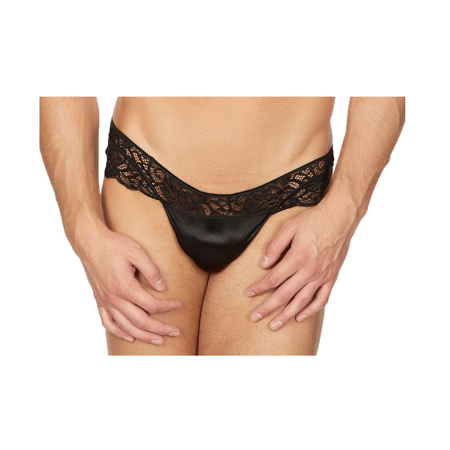 Body Aware Sleek Satin and Lace Panty for Men