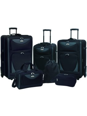 Skyview 6-Piece 2-Tone Luggage Set
