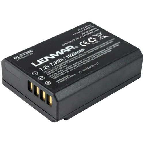 Lenmar DLZ320C Canon LP-E10 Replacement Battery