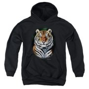 Wildlife Jungle Fire Big Boys Pullover Hoodie