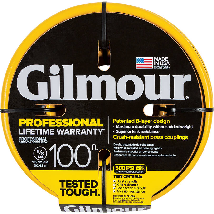 Attractive Gilmour Professional Hose 5/8 Inch X 100 Foot