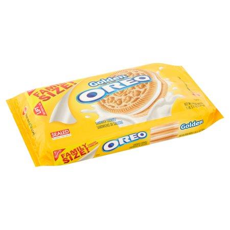 Nabisco Golden Oreo Sandwich Cookies, 19.1 OZ