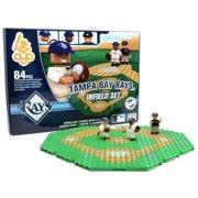Tampa Bay Rays OYO Sports 84 Piece Infield Set - No Size