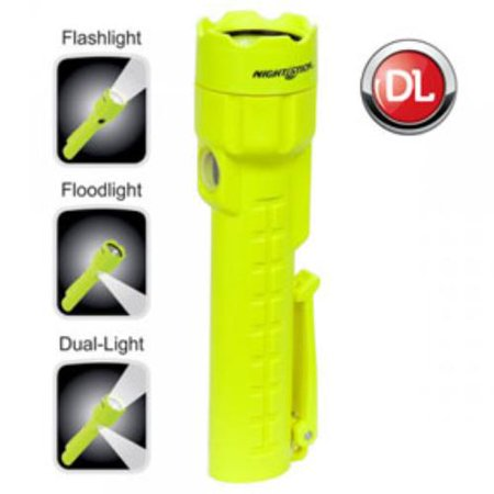 Nightstick XPP-5422G 3 AA Intrinsically Safe Permissible Dual-Light Flashlight, Green (Novelty Flashlights)