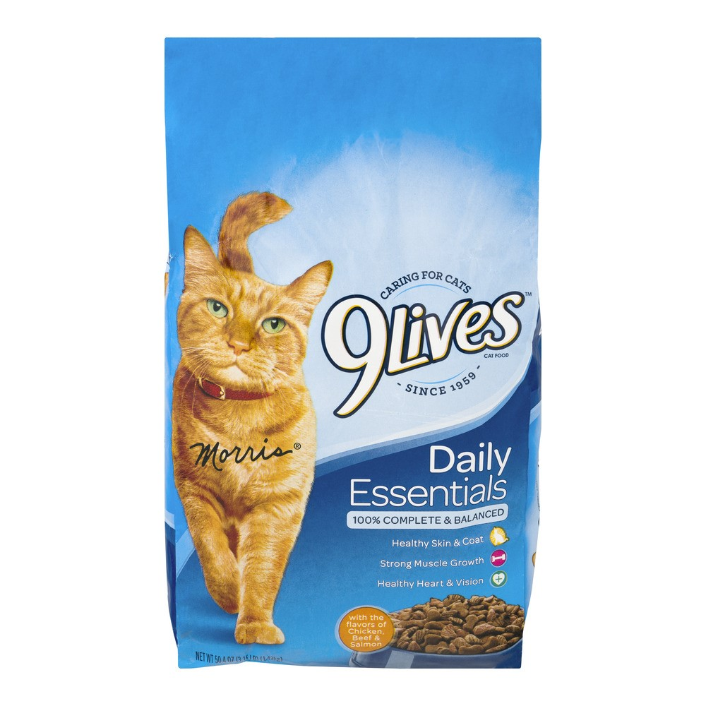 Image of 9Lives Daily Essentials Dry Cat Food, 3.15-Pound