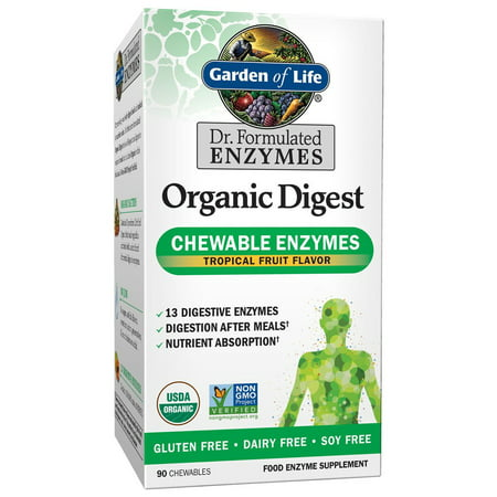 Garden of Life Dr. Formulated Organic Enyzme Chewables, 90 Ct ()