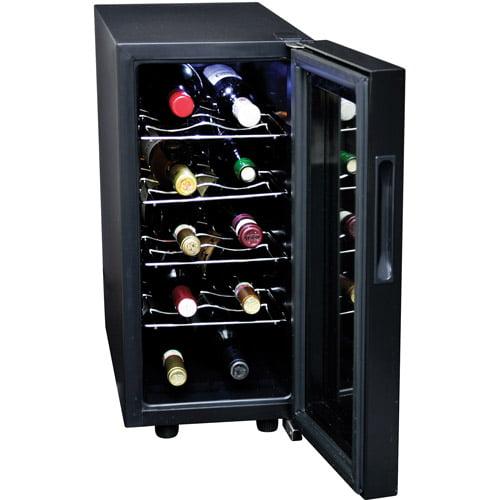 Koolatron 10-Bottle Wine Cellar, Black