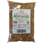 Jiva Organics Raw Unpasteurized Almonds, 2 Lb