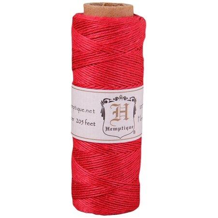 Hemptique - Hemp Cord Spools - 10 lb. - Red (Hemp Spool)