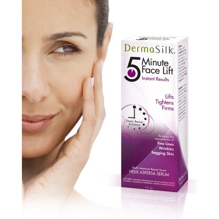 Dermasilk Anti Aging Skin Care Cream 5 Min Face Lift Immediately Lifts, Tightens & Firms Aged Skin - Lasts up to 8 Hours Significantly Reduces the Appearance of Fine Lines, Wrinkles & Sagging Skin