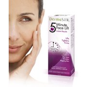 Dermasilk Anti Aging Skin Care Cream 5 Min Face Lift Immediately Lifts, Tightens & Firms Aged Skin - Lasts up to 8 Hours Significantly Reduces the Appearance of Fine Lines, Wrinkles & Sagging Skin 1oz