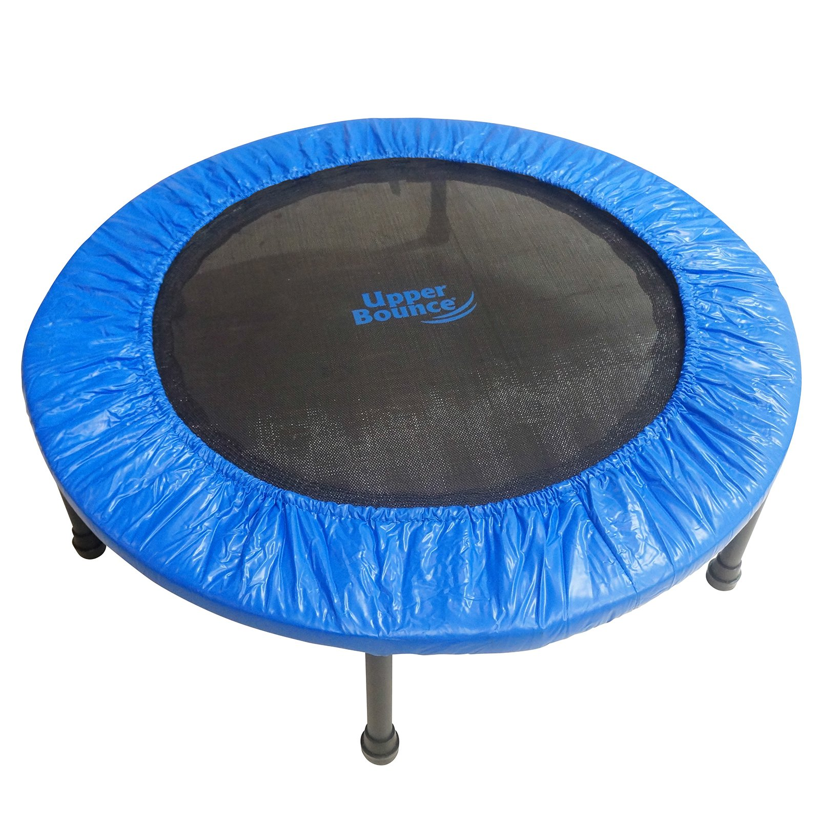 Upper Bounce 40 in. Two-Way Foldable Rebounder Trampoline with Carry-On Bag