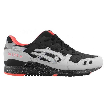 de518fa95a59 Asics - Mens Asics Gel Lyte 3 III Black Light Grey Red H6W1L-9013 -  Walmart.com