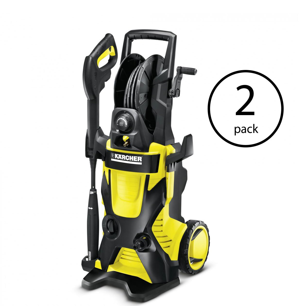 Karcher 2000 PSI 1.4 GPM Water Electric Pressure Power Washer with Hose (2 Pack) by Karcher