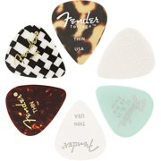 Fender Guitar Pick Medley - 6-Pack - Thin