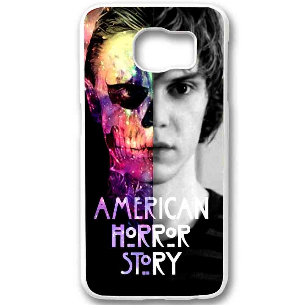 Ganma American Horror Story Tate Langdon Evan Peter Case For Samsung Galaxy Case (Case For Samsung Galaxy S6 white)