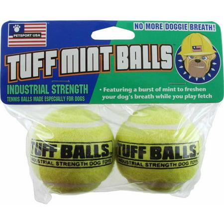 Petsport Usa Inc 70012 2 Count Tuff Mint Balls Dog Toy (Usa Toy)