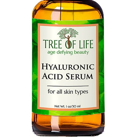 Hyaluronic Acid Serum - 72% ORGANIC - The Best Day or Night Facial Serum for Skin Hydration - Vegan, Cruelty Free, Made in the (Best Selling Face Serum)