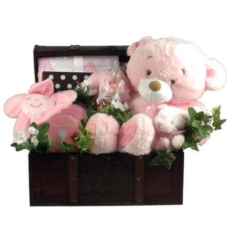 Gift Basket Drop Shipping ItAGiTr Its A Girl, Deluxe Trunk - Girls Trunk