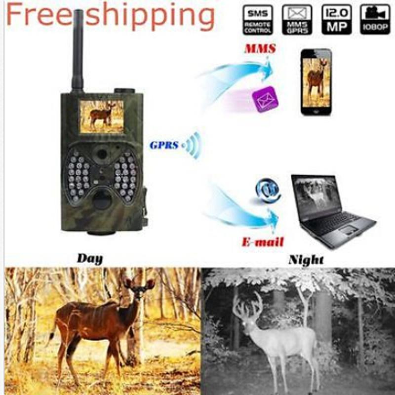 HC-300M LCD Digital Trail Camera Video Scouting Infrared HD 12MP MMS GPRS USHHE