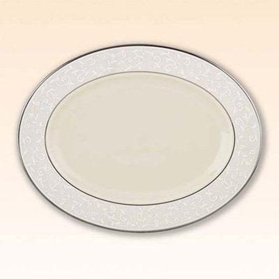 Lenox Pearl Innocence 16 in. Oval Platter