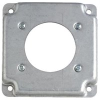 "Thomas & Betts RS1330 Square Box Cover-4"" SQ 30A/50A BOX COVER"
