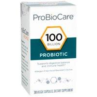 ProBioCare Probiotic 100 Billion  Supports Digestive Balance  Immune Health (30 Veggie Capsules)