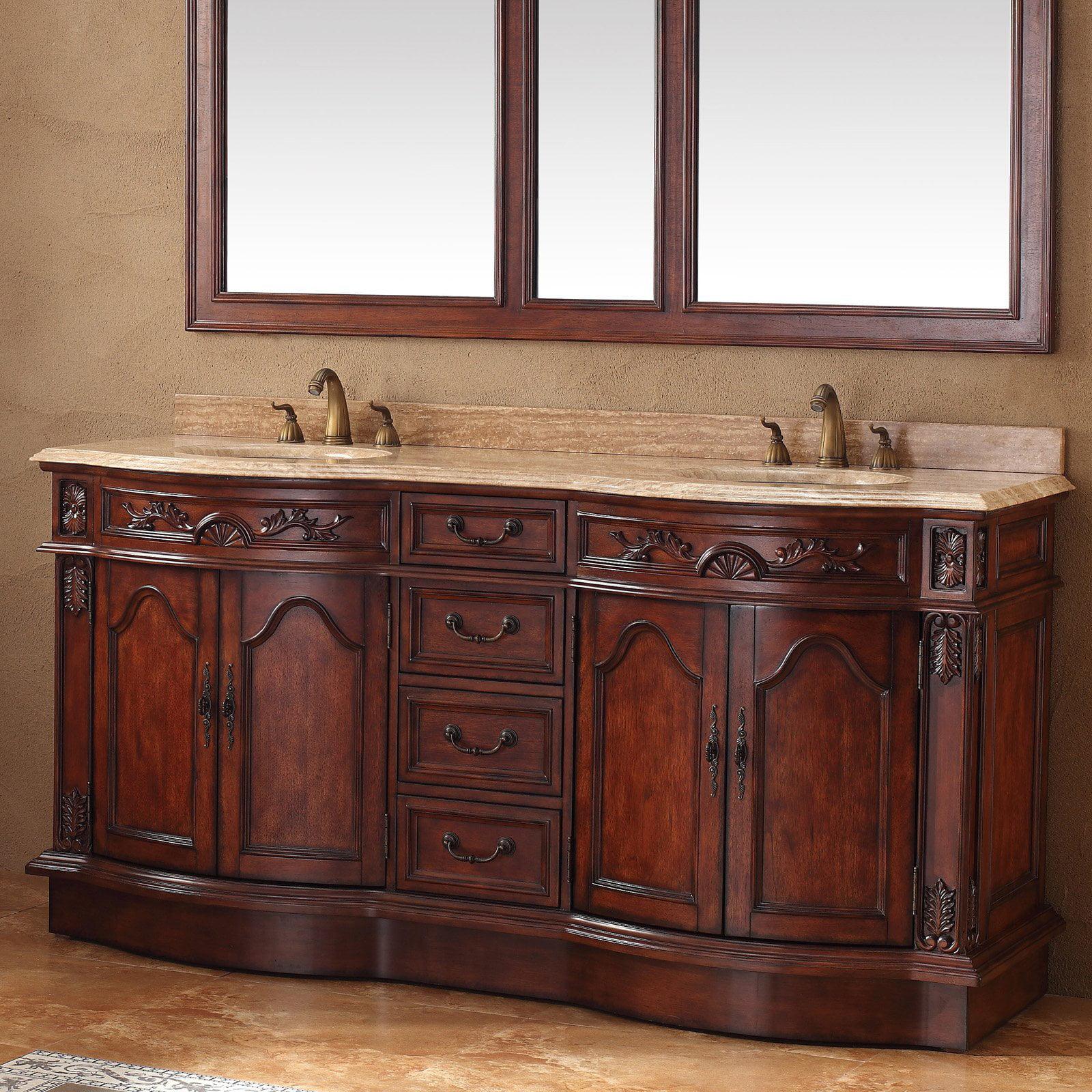 James Martin Amalfi 72 in. Double Bathroom Vanity