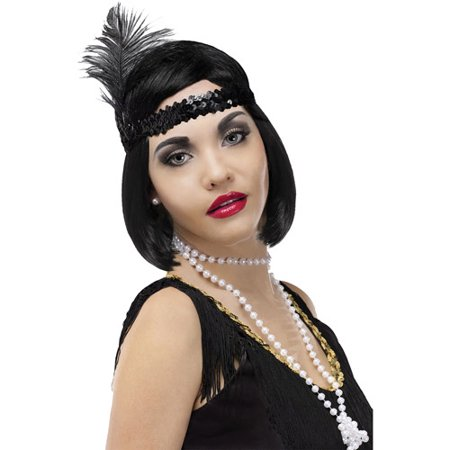 Pearl Flapper Beads Adult Halloween Accessory - Pearl's Liquor Bar Halloween