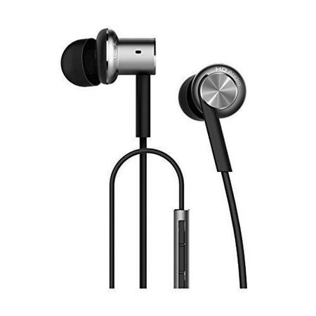 Xiaomi Hybrid Dual Mi Hybrid Earphone In Ear Headphones Multi Unit Circle Iron Mixed Piston Earphones  Silver