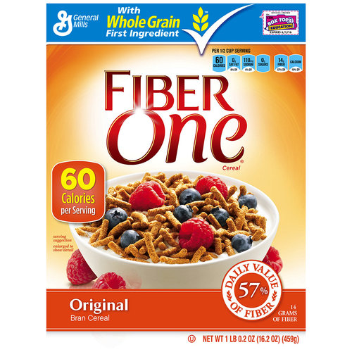 Fiber One? Original Cereal 16.2 oz. Box