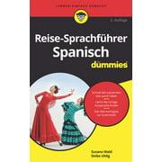 Reise-Sprachführer Spanisch für Dummies - eBook