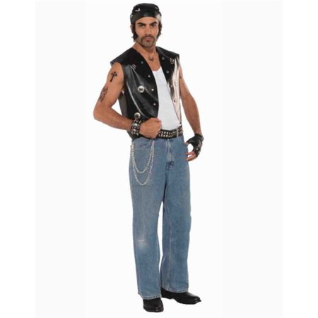 Adult Punk Vest Halloween Costume Accessory