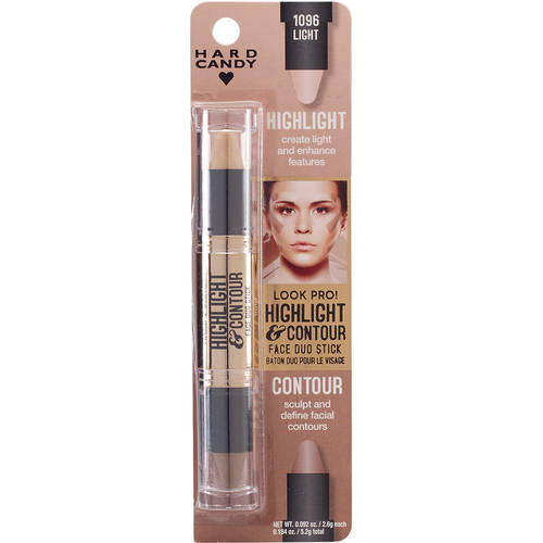 Hard Candy Look Pro! Highlight & Contour Duo, 1096 Light, .0184 oz