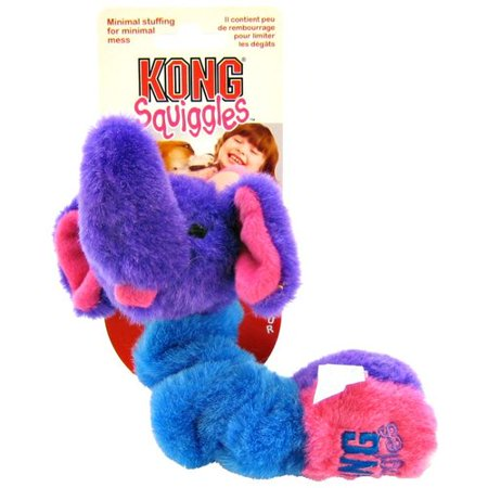 Kong Squiggles Dog Toy  Set Of 2