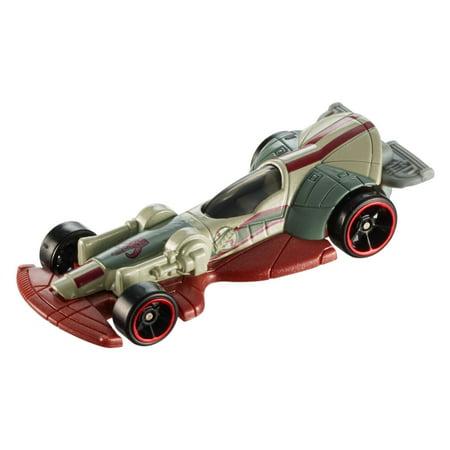 Hot Wheels Star Wars Boba Fett's Slave 1 Carship Boba Fett Slave 1 Vehicle