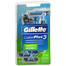 Razor Blades: Gillette CustomPlus 3