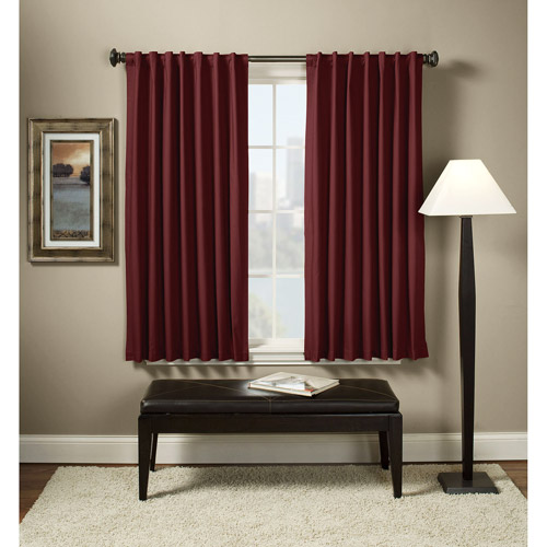 Devon Canvas Thermal Energy-Efficient Curtain Panel