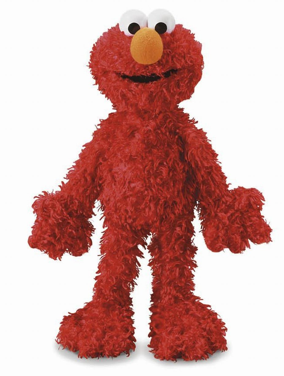 Fisher Price Elmo Puppet Soft & Plush Full Body Cuddly Pal by