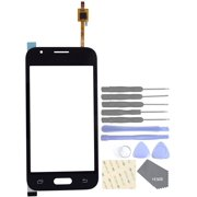 Cell Phones Replacement Parts for Samsung Galaxy J1 Nxt J105 J1 Mini 2016 Touch Screen Glass Panel(Black)