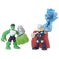Playskool Heroes Marvel Super Hero Adventures Hulk and Thor