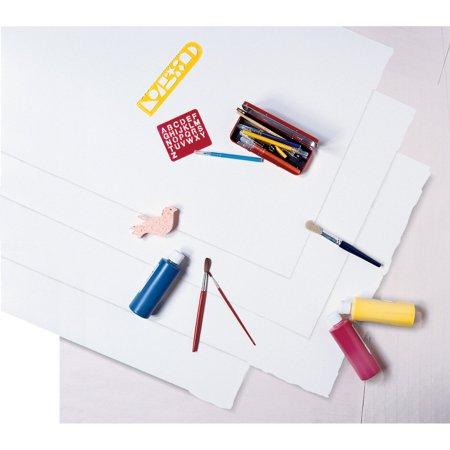 Paper 104225 White Poster Board, 22 x 28, 100 Sheets/Carton Riverside - 22